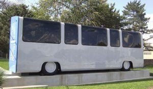 The refurbished Skybus, courtesy of Wikipedia user bongwarrior