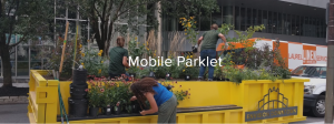 The Mobile Parklet, courtesy of Envision Pittsburgh