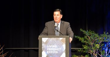 Mayor Bill Peduto at the Living Product Expo